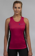 Ladies Yoga Performance Contrast Vest